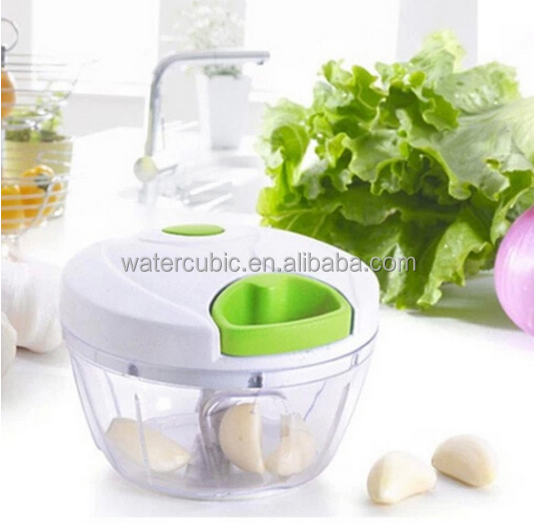 2017 Manual Food Chopper Compact&Powerful Hand Held Vegetable Chopper / Mincer / Blender to Chop Fruits Vegetables Nuts Herbs