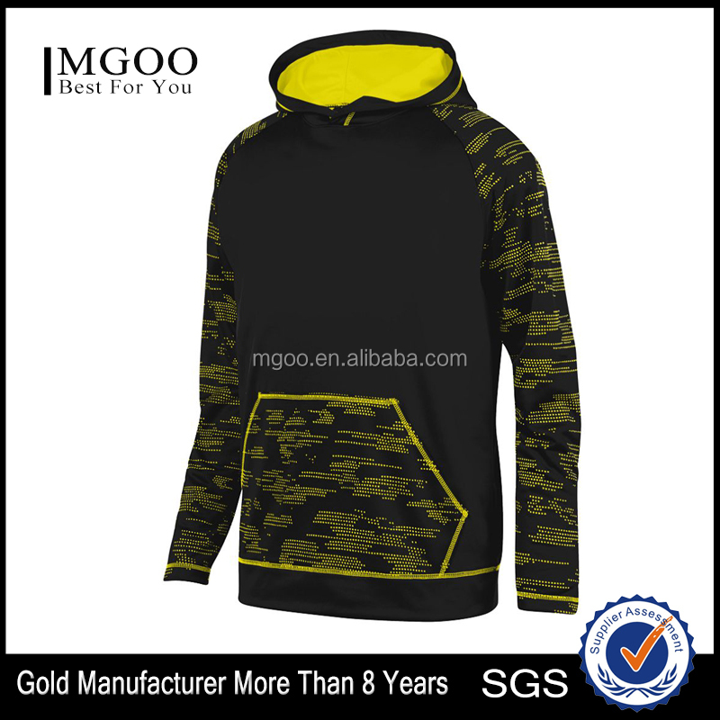 Stylish Young Man Sleet Hoody Custom Sleeve Pocket Print Athletic Outfit 100% Cotton Wicking Fleece Sweater With Hood