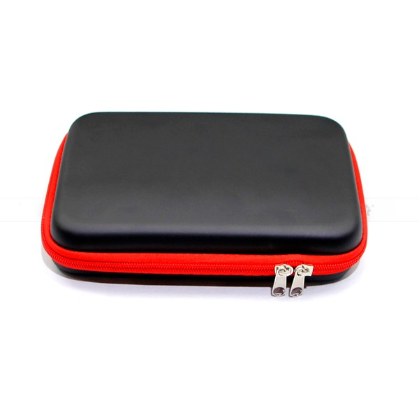 wholesale efest electronic cigarette accessory big size tool bag full kit nylon bag black with red edge tool case