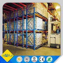 heavy duty double deep pallet rack for warehouse storage