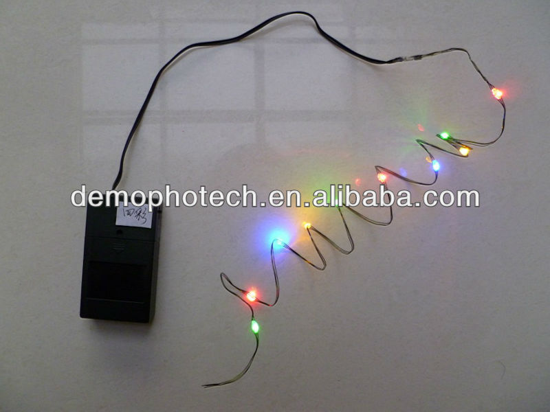 Battery Powered LED Flashing String Lights