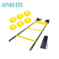 High Quality Agility Ladder with Sports Exercise Agility Cone