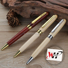 2015 New High Quality Oen Business Gift wood Metal Pen With Engraved Logo