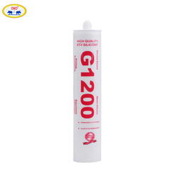 Wholesale Plastic Bottle Packed Flexible Structural Colored Acetic Silicone Sealant G1200