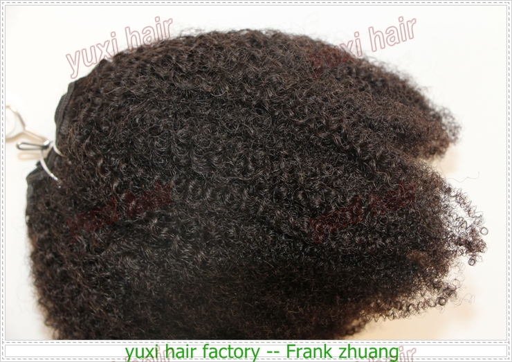 Royal quality afro kinky curly hair extensions