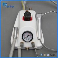 Portable dental turbine unit dental lab turbine unit