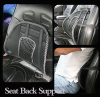 High quality car seat mesh back lumbar support