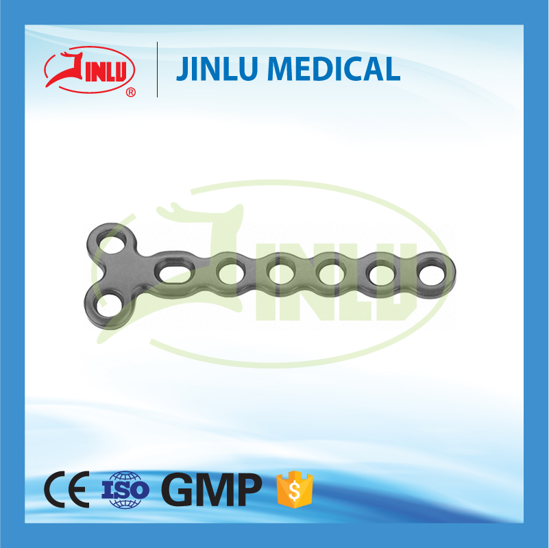 Since 1958 Pure titanium/Titanium alloy Mini locking plate (LCP),trauma titanium locking plate,Finger Locking plate