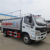 China good quality 8000L mini fuel tanker truck for sale
