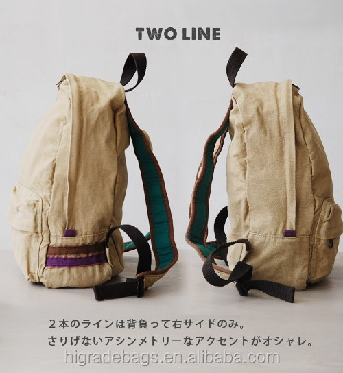 backpack teenage ,canvas school backpack