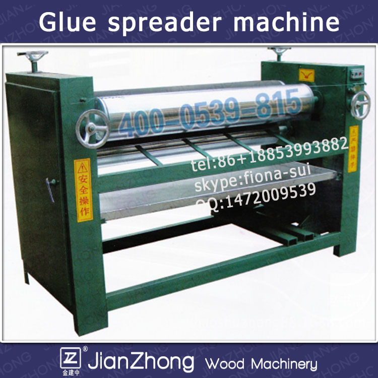 double side gluing machine for plywood/veneer glue spreader