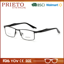 PRIETO eyewear Latest new model new fashion popular design elastic changeable temple eyeglasses frame