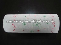 Embossed Logo Kitchen Paper Towel