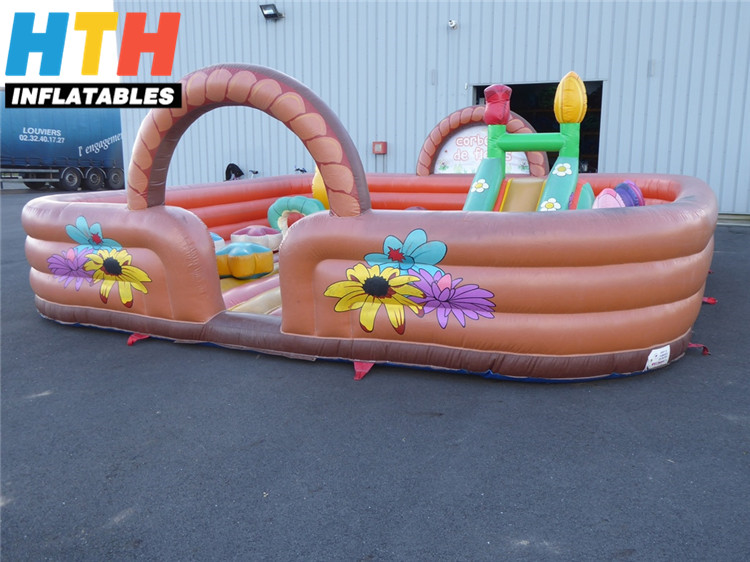 Air mattres inflatable fun city indoor playground for kids