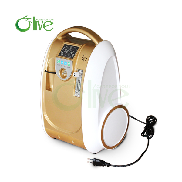 CE Oxygen Concentrator Portable Medical Oxygenerator in Family or Care Room