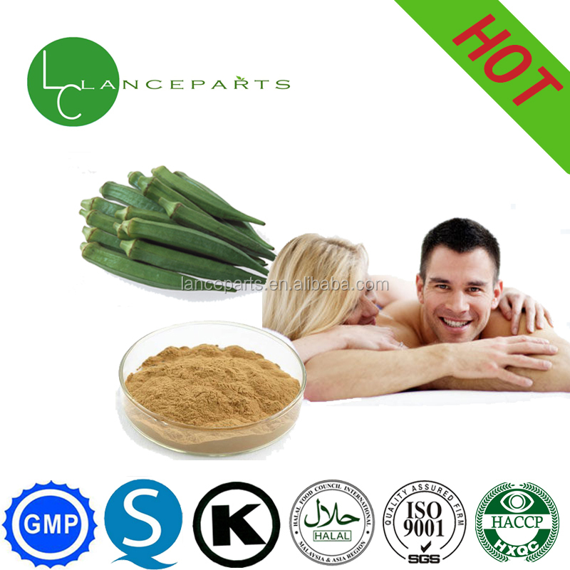 100% pure natural health plant extract okra powder