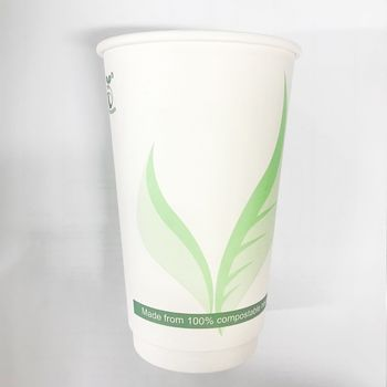 Eco-friendly PLA compostable paper cup