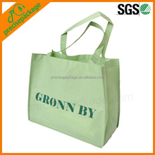 Cheap cute stylish hot sale durable pvc coated cotton shopping bag