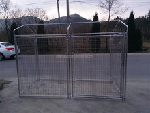 factory sale heavy duty galvanized wire mesh dog cage for sale