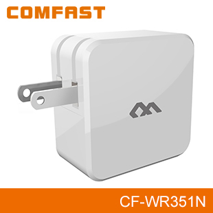 COMFAST CF-WR351N 300Mbps wireless router booster with Universal Charge wifi extender