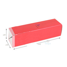 presention single individual wine glass boxes