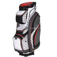 Custom Low MOQ Lightweight Red Golf Cart Bag
