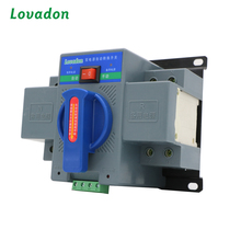 dual power transfer ATS Controller auto conversion switch 3 Phase Generator Automatic Transfer Switch