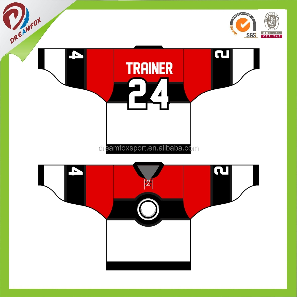 China Ice Hockey Jerseys Manufacturer for sales, New design hockey jersey/Uniform/wear