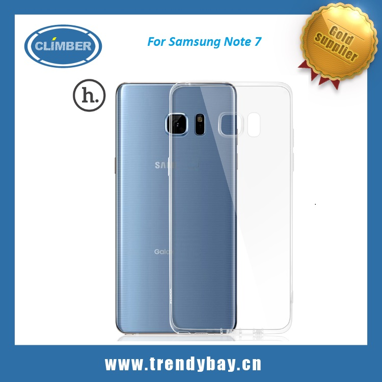 Hoco brand Ultra thin TPU case cover for SAMSUNG Note 7