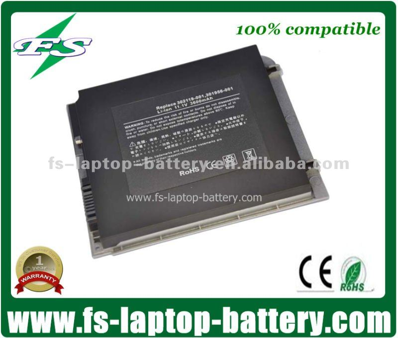 Compatible 301956-001, 302119-001 Replacement Laptop Battery for Compaq TABLET PC TC1000