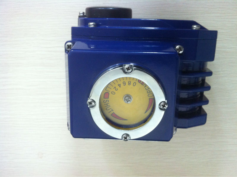 Aluminum alloy die casting shell of the electric actuator
