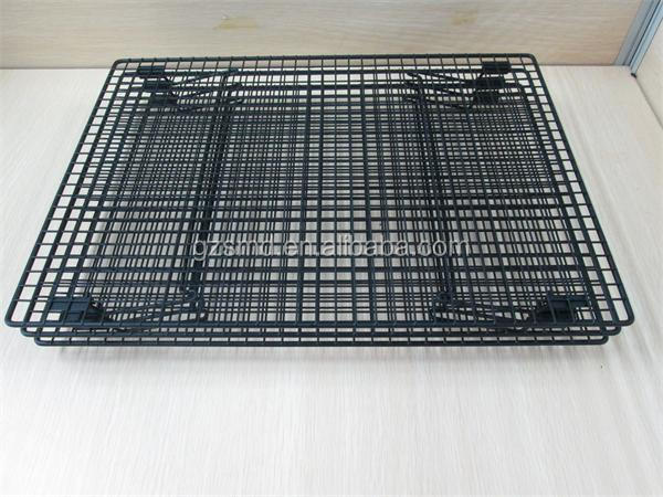 FDA Approval 3 Tiers Cake Bread Bakery Folding Stackable Wire Cooling Rack