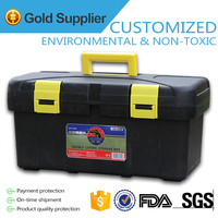 Hot sale hard plastic EVA tool box with ABS handle make in china