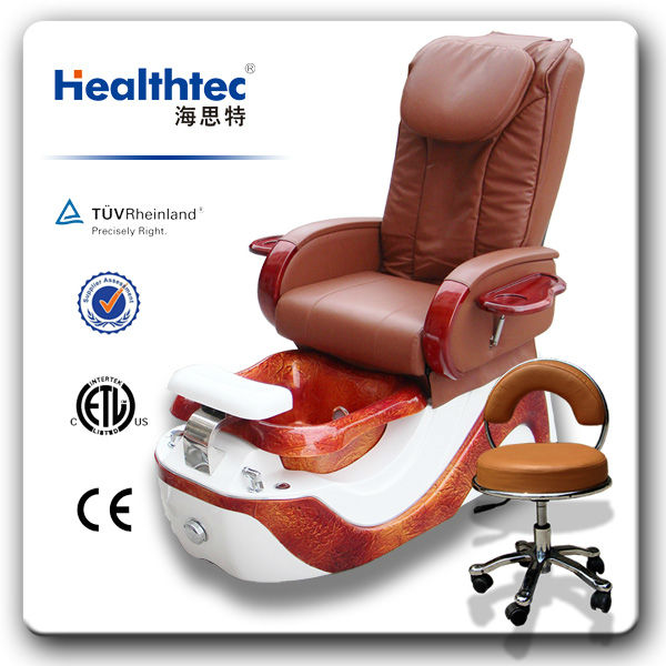 facial portable manicure pedicure chairs with bowl