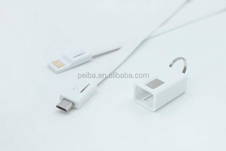 2 in 1 Magnetic Cable,Flat Noodle Micro USB Magnetic Cable Data Charge Cable Magnet