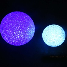 EVA led christmas ball light led decoration