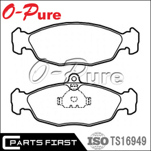 Wholesale Car spare parts Less Metallic Semi-Metallic NAO Ceramic Brake pad for DAEWOO NEXIA OEM:1605 810