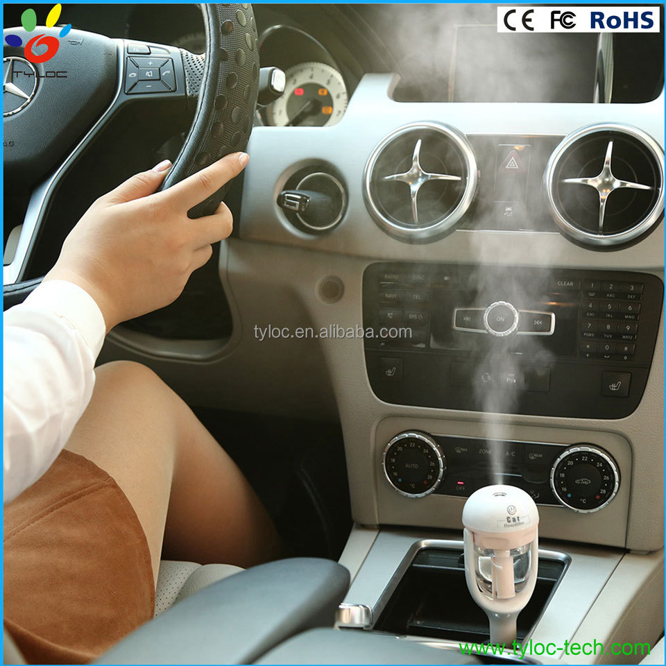 New fashion car aroma air humidifier mist air freshener wholesale