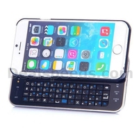 Ultra-thin Slide-out Hard Case Backlight Wireless Bluetooth Keyboard for iPhone 6 4.7 Inch