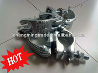 Scaffolding Pipe Clamp With Heavy Loading / Galvanized British Standard Sleeve Pipe Clamp