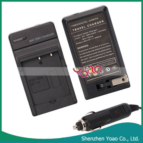 For Casio CNP110/130 Camera Charger