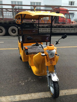 800W taxi passenger electric tricycle/High quality electric brushless motor scooter/Factory price bajaj three wheeler price