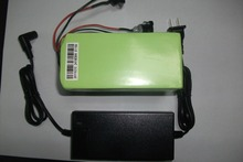 48v 10Ah lithium ion battery with charger
