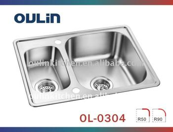 bowl sink universal stainless steel sink