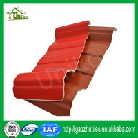UPVC profile manufacturers 1130 trapezoidal unique roofing materials pvc roof