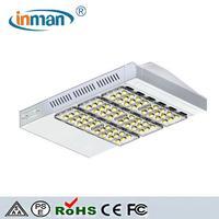 High power bridgelux 150w outdoor ip65 solar led street light fixtures