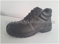 NMSAFETY cheap pu upper rubber sole safety shoes for poland