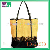 2014 HOT! Nature straw shopping bag for women