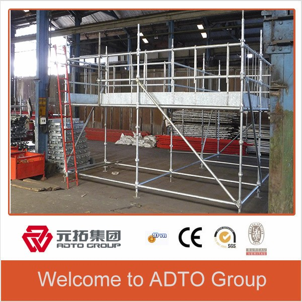 galvanzied Cuplock British standard scaffolding system for sale scaffold materials from adtogroup
