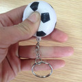 cheap promotion keychains with pu stress football